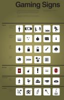 Gaming Symbols by omegaarchetype
