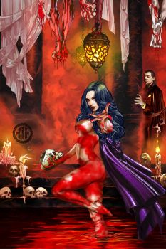 Countess Bathory by WayneReinagel