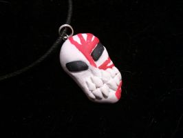 Ichigo's Mask Necklace by UntouchedRayne