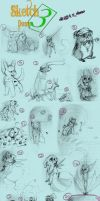 Sketch Dump 3 by Zakeno
