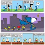 Justice League Peanuts by Theamat