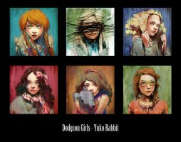 Dodgson Girls by YukoFukushima