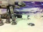 Battle of Hoth model by lusitania25