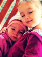 My little cousins by JustAnn