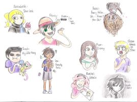 Fandoms of Olympus by madster123