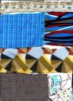 Patterned fabric by Jaxxys-Stock