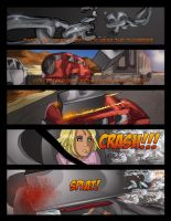 Fourth page of the comic killed by a fridge. by Gerardogarciaro