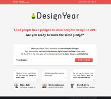 Design Year by PsdChat