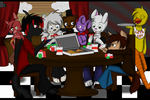 *CO* Poker Night at Freddy's by DarkDreamingBlossom