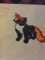 Drawing on paper 9 by Obsidianthewolf