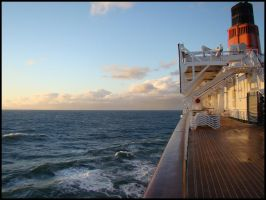One Morning on the QE2 II by avarenity