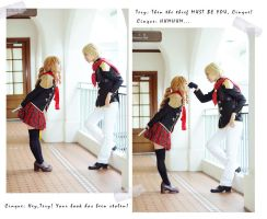 FF Type-0 The Book Thief?!  3 x 5 ver. by tsubaki706