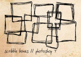 Scribble boxes by Ch4ron