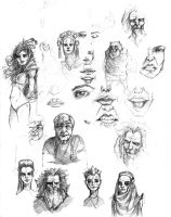Just sketches by Chimerum
