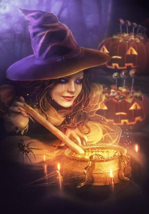 Sweet Halloween by Blavatskaya