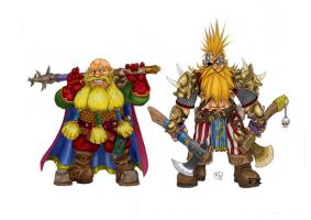 Warhammer dwarves by effix35