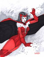 Scarlett Witch Commission by Arciah