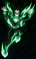 Green Lantern Alan Scott by LucianoVecchio