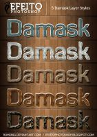 5 Awesome Damask Styles by Romenig