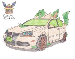 Volkswagen R32 Leafeon Edition by Sir-Genesis