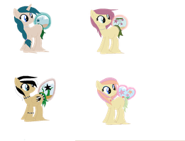 Star Fish Bubble Butt Pony Adopts #1 (CLOSED) by sophiesuds