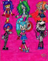 :THE AVENGERS: Sonic Crossover: Part 2 by Sonicemma