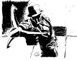 Watchmen - Rorschach by craigdeboard111