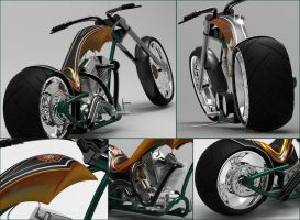 Chopper Collage by D3V01DL1F3