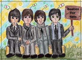 Beatles For Sale by Spongefifi
