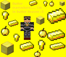 skydoesminecraft butter heaven! :3 by minecraft4everyo
