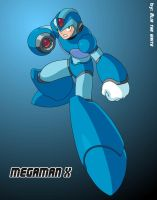 Megaman X by Alia-the-white