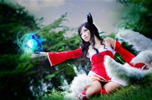 Ahri - League of Legends 02 by YukiChristy