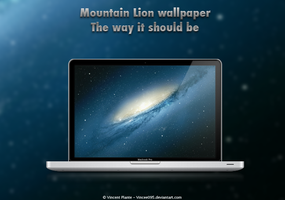 Mountain Lion Wallpaper Mod by Vincee095