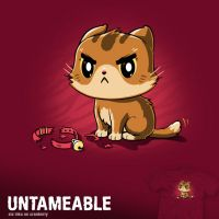 Untameable - tee by InfinityWave
