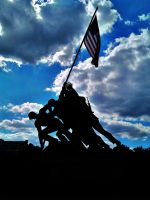 Marine Corps War Memorial by TwomblyCZ