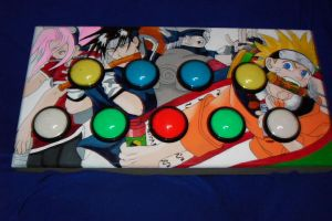 Naruto Pop'n Music controller by invader-gir
