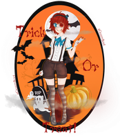 Trick Or Treat Bitches[!] by Mr-Creepy