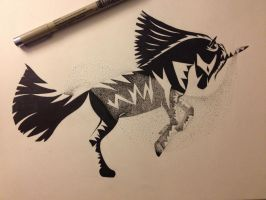 Dark Horse by flyinginwonderland