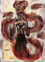 Shang Tsung MK concept by TheWiseWeirdProphet