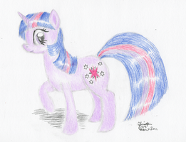Twilight Prismacolor Test by KuroiTsubasaTenshi