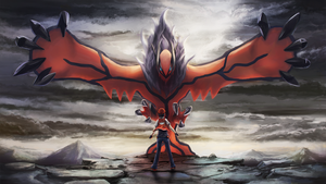 Rise of Yveltal + Red FullHD by Dekus