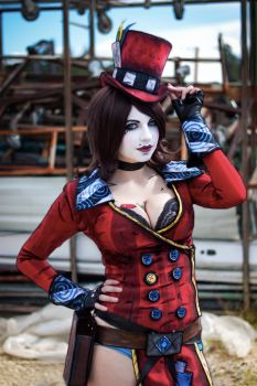Mad Moxxi by andyrae