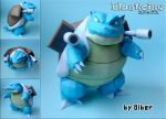 Blastoise Papercraft by Olber-Correa