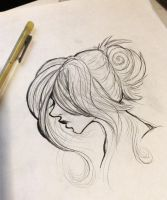 Daily Sketch #1 by Aavie