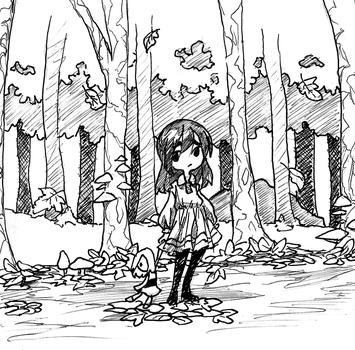 Lost In The Woods by Jump-Button