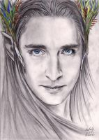 Young Thranduil by Simaell