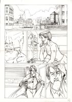 Course Work - page 1 pencils by Lineus123
