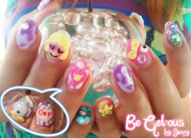 Pamyu Nails by CandyRobot
