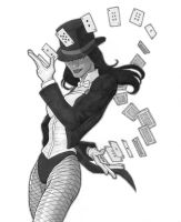 Zatanna: Flying Cards by jtchan
