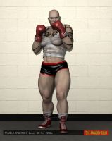 Pamela Brunton - boxer - 6ft 1in - 200lbs by theamazonclub